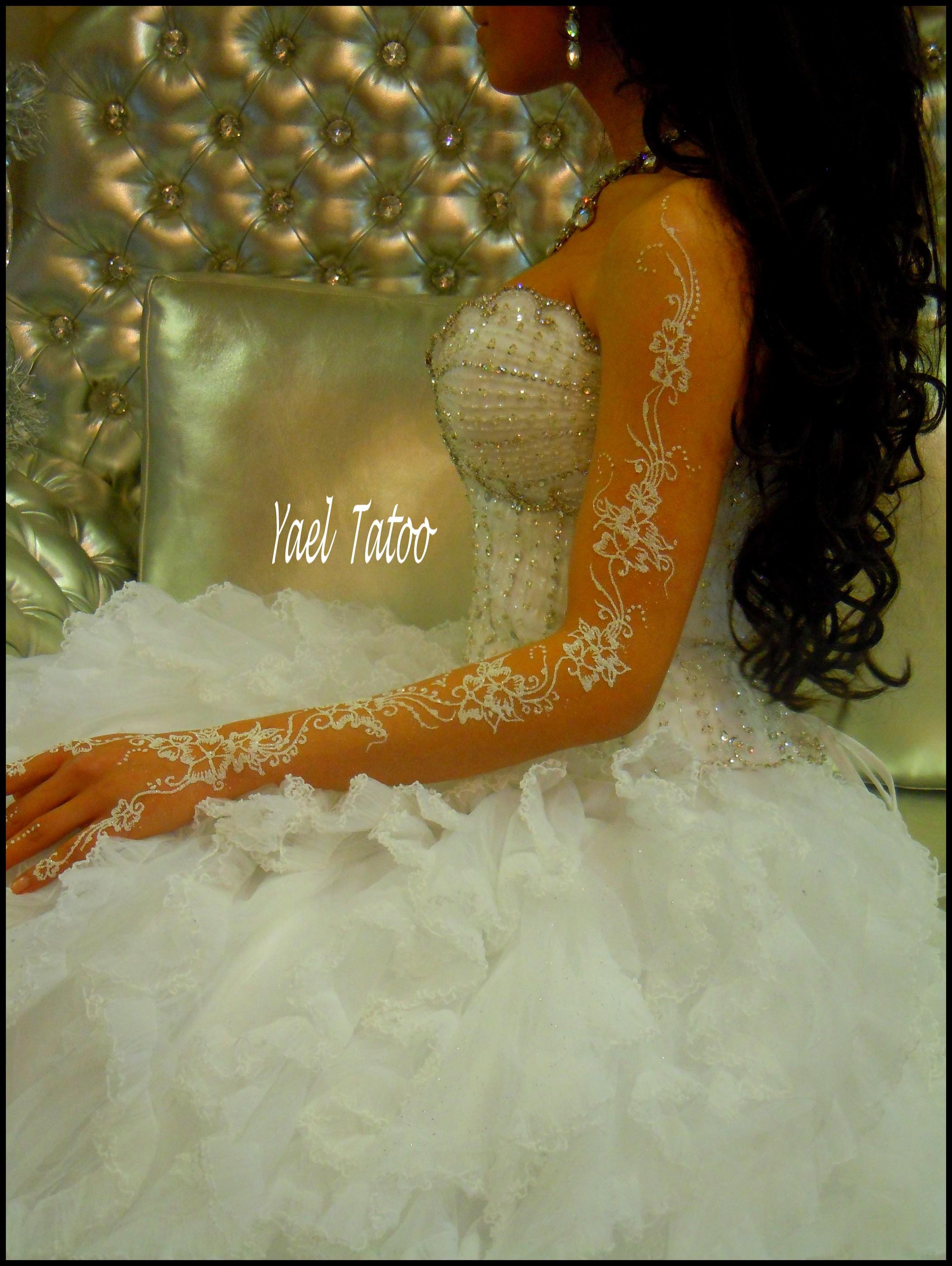 025 - Tatouage Paillette Mariage